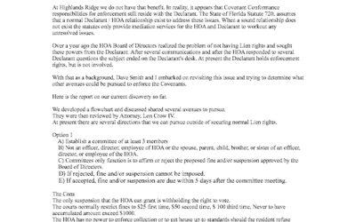 Process to Enforce Covenant Conformance