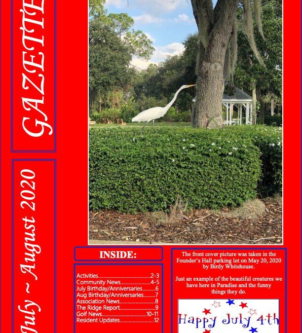 July-Aug 2020 Gazette