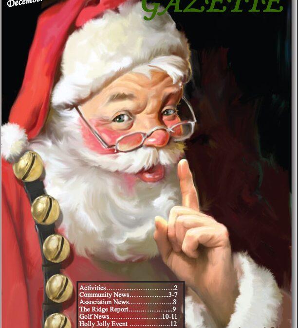 December 2020 Gazette